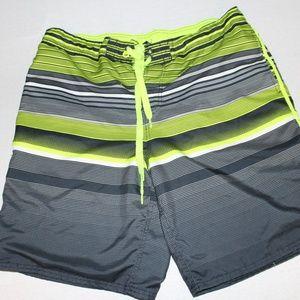 OP Ocean Pacific Mens Large 36-38 Board Shorts Zip